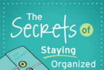 The Secrets of Staying Organized / If you love that freshly organized feeling but get frustrated when the results begin to unravel before your eyes, you're not alone! In The Secrets of Staying Organized online class, I'll show you how to break the cycle of getting organized, getting disorganized, getting organized, getting disorganized…over and over again!  / by Aby Garvey | simplify 101