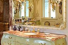 Beautiful Bathrooms / Slip into a warm bubble bath and sip some wine in these beautiful bathrooms.  / by Soft Surroundings