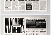 Print / A collection of print layouts and typography that I find interesting or inspiring.