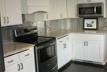 Backsplash / the important position of the kitchen backsplash designs in supporting the whole design of the kitchen | kitchen backsplash designs are kind of the ideas that can inspire you when you want to build the special backsplash in your home