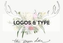 + LOGOS AND TYPE