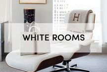 + WHITE ROOMS