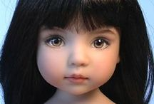 Magical Dolls / Artist dolls with beautiful or unusual faces. / by Ann C. Holt
