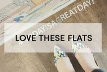 + LOVE THESE FLATS