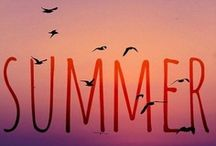 Splendid Summer / Compiling our favorite sights, sounds, and tastes of summer.