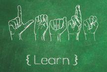 ASL/Deaf Culture / Learn #ASL, Deaf Culture, Local Resources, Videos and Books