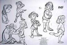 Character Design / Diseño y desarrollo de personajes en preproducción #Design #characters #preproduction #ilustration