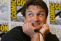 "Nathan ""Sexpot"" Fillian / I love Nathan Fillion. Nay, strike that. I don't love him, I ADORE him."