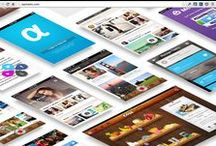 Graphic & Web Design / A mix of graphics, illustrations, web pages and online design.