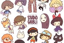 Ghibli 株式会社スタジオジブリ / Images related to the amazing Studio Ghibli / by Suzi Q