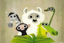 Animalillos / Cute little animals / Cute little animals Animalillos monísimos de la muerte #illustration #ilustracion#animal