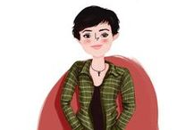 Retratos personalizados #Portraits / Retratos personalizados realizados por encargo por Pedrita Parker. Escribe a hola@pedritaparker.com para solicitar información. Customized portraits! e-mail me at hola@pedritaparker.com to ask me.