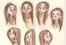 Facial Expressions / Expresiones faciales #illustration #design