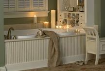 Home & Hearth ❦ Mood Boards ~ Bathroom Makeover / collecting ideas for my bathroom makeover