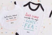 Niños y bebés / Kids & Babies / Objetos y ropa diseñado para niños y bebés con mucho amor por @pedritaparker