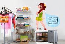 Decora tu casita con estilo / Dale a tu casa un toque Parker con un #vinilo o una #lámina chula