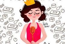 Reina Madre / Ilustraciones con amor de hija para las Reinas Madres modernas por @pedritaparker con mucho #humor y #amor