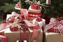 Christmas - Decor, Tables, Gift wrapping etc