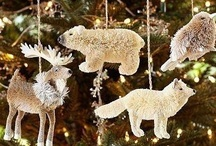 Christmas ornaments, indoor decor and crafts / by Midge Barton