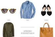 Look Book / The expanding wardrobe