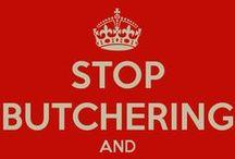 Stop butchering a classic