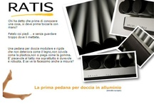 Ratis: aluminium plat shower / The shower tray is Ratis entirely of aluminum. This characteristic makes it unperishable over time. Ratis is a handmade product and is packaged exclusively tailored. Based in Milan Ratis is committed to providing even individual orders. www.ratis.biz