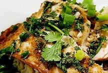 Recipes: meat / fish