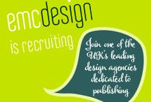 Come and work with us / emc design is one of the UK's leading design agencies for the publishing industry. We are passionate about what we do and have built up an unrivalled reputation for producing high-end, multi-component resources (print and digital) for the international education markets. Industry-leading clients return to us because we have a team of exceptional people who deliver stunning design, on budget and to deadline.   For more information visit our website http://www.emcdesign.org.uk/about/joinus.html