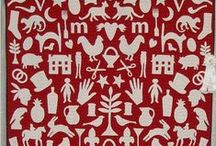 Patchwork - Red & White / by Anita @ Bloomin Workshop