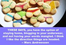 Blogging is fun(ny) / Funny cartoons and quotes about blogging