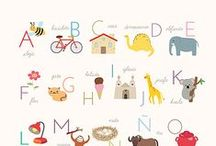 Ⓐⓛⓥⓐⓡⓞ Learn Letters / Learning Letters / by Raquel Del Pozo