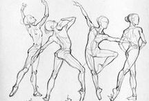Figure Drawing Reference / by Jaime Bedard