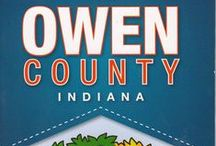 OWEN COUNTY, INDIANA / Sights, scenes and information about Owen County, Indiana, from Cataract Falls to Spencer to Freedom. We invite you to visit for a day or spend a lifetime. I am also including links to stories and information about rural America today.