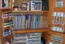 Craft Storage / by BearyAnn Pawter