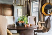DINING ROOMS / Choose a dining room that embodies the essence of food and fellowship.