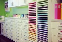 Craft Room & Office Organisation