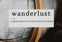 Places I've Been / Not all who wander are lost. - j. r. r. tolkien / by Laura Frantz ~ Author