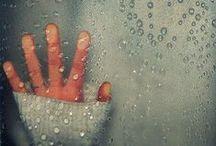 Rain  ☂ / Rain is a way of life where I live / by Nancy ❥