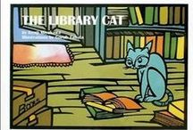Library Cats / Cats, a library's best friend.