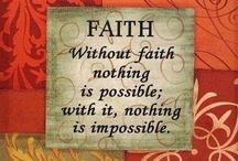 F A I T H / ✞ have a little faith ✞