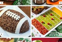 SuperBowl Sunday 2015 Outdoor Entertaining / Party ideas for sport themed party that includes food, drink, decorating and game ideas for all ages!