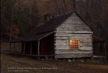 Cabin Fever / the lure of logs
