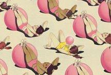 P A T T E R N  / paint, pattern, wallpaper, textile / by Elizabeth Karen