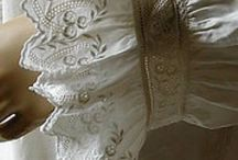 Linen and Lace / Celebrating the beauty of both...