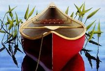Beside the Still Waters. . . / quiet waters & small boats / by Nancy ❥