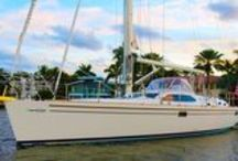 Saturn Yachts 48 CC / The exclusive Saturn 48CC has been designed by Bill Dixon, the legendary boat builder. Built in Taiwan the Saturn 48CC is a high quality blue water cruising yacht, designed for comfort, luxury and ultimate sailing experience.