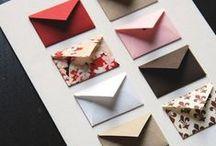 Cartões / Embalagens DIY !
