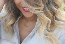 """Long hair, don't care"" / by Amanda RylanceBednar"