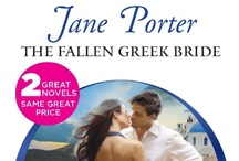 The Fallen Greek Bride - March '13  / My next Harlequin Presents (out late Feb, but a March '13 release) features Greek shipping tycoon, Drakon Xanthis, and his American heiress bride, Morgan Copeland.  It's the first of my Copeland mini-series featuring the beautiful Copeland daughters who were once glittering and golden but have become social outcasts due to their father's scandalous financial dealings.  A fantastic new series I'm thrilled to be writing and can't wait to hear what my readers think.