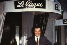 "Le Cirque NY Vintage Photos / ""Where the worlds of food, fashion, art and culture converge."" -Sirio Maccioni"